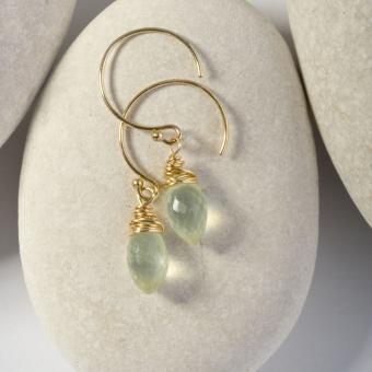 Coastal-inspired Earrings by Sarah Cornwell Jewelry