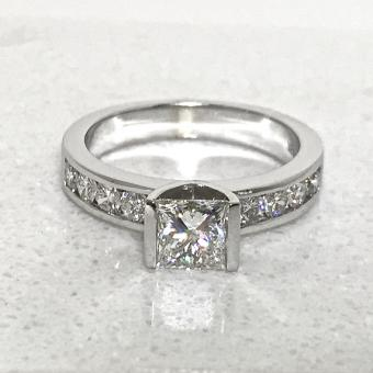 princess diamond engagement ring Bucks County
