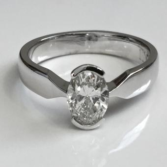 Customized Diamond Engagement Ring