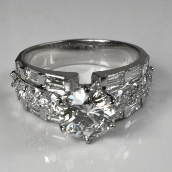 Kathy's Diamond Engagement Ring
