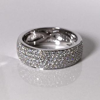 custom diamond wedding band PA