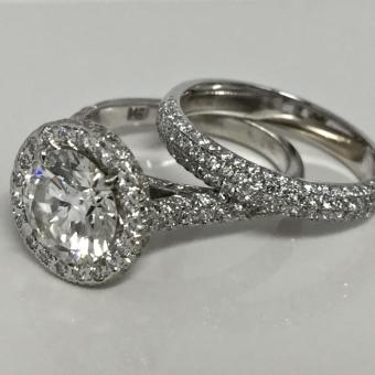custom diamond ring in Doylestown