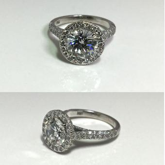 diamond engagement ring Bucks County PA