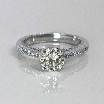 unique diamond engagement ring in Bucks County