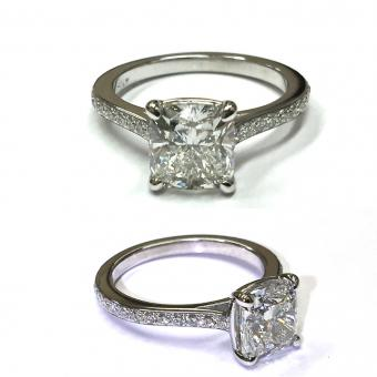 custom diamond engagement ring Doylestown