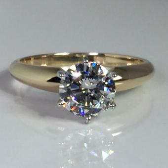solitaire diamond engagement ring Doylestown