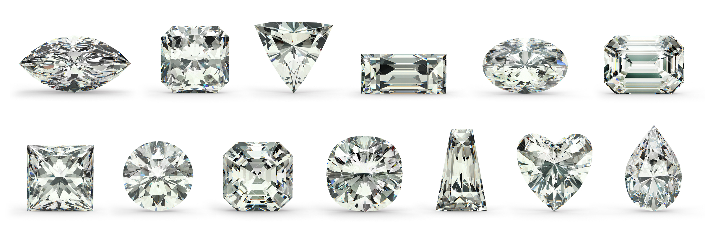 diamond cuts for custom diamond engagement rings