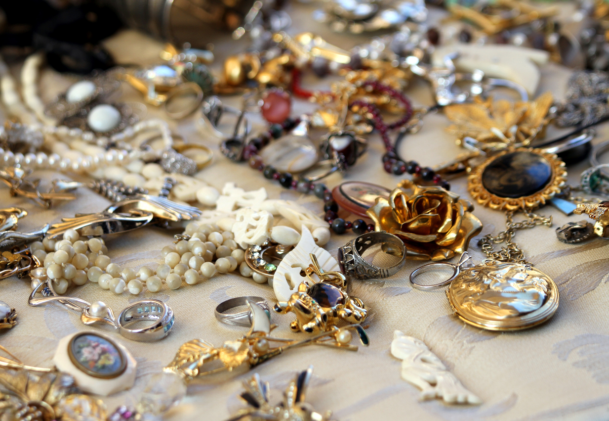 Collection of Vintage, Antique & Estate Jewelry