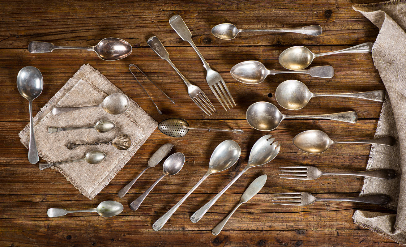 Selling Silver Flatware in Bucks County