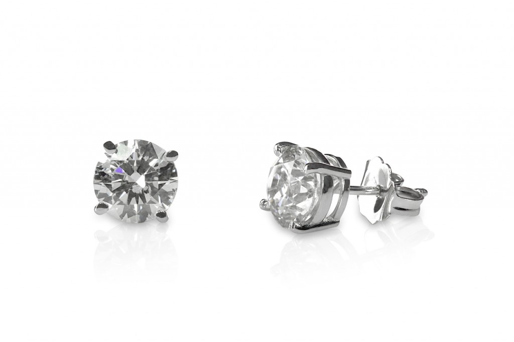 diamond stud earrings Doylestown