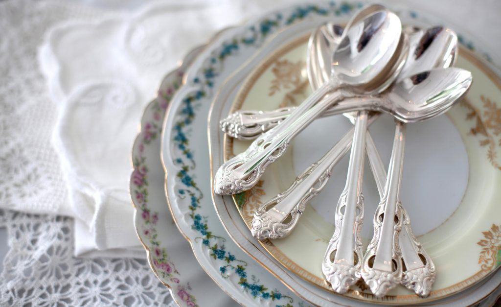 how to care for silver flatware